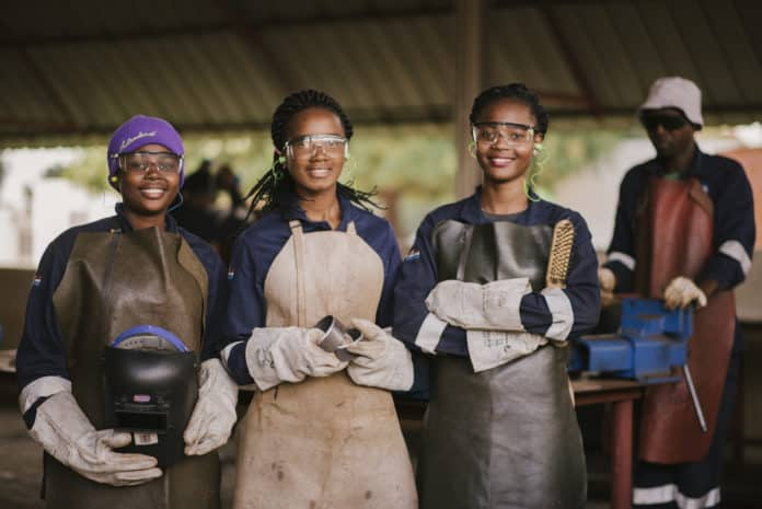 Sasol empowers young people through artisan skills training