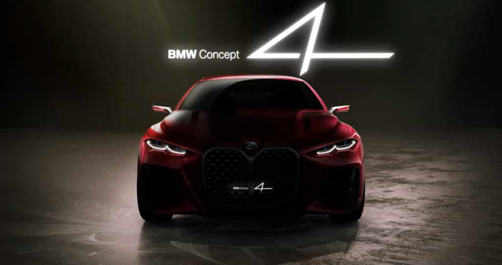 The aesthetic essence of a modern BMW coupe.