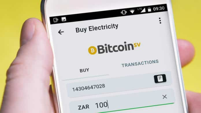 Buy Electricity with Bitcoin SV using Centbee
