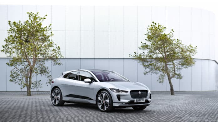 Jaguar to Test the World's First Wireless Charging for i-Pace Taxi Fleet