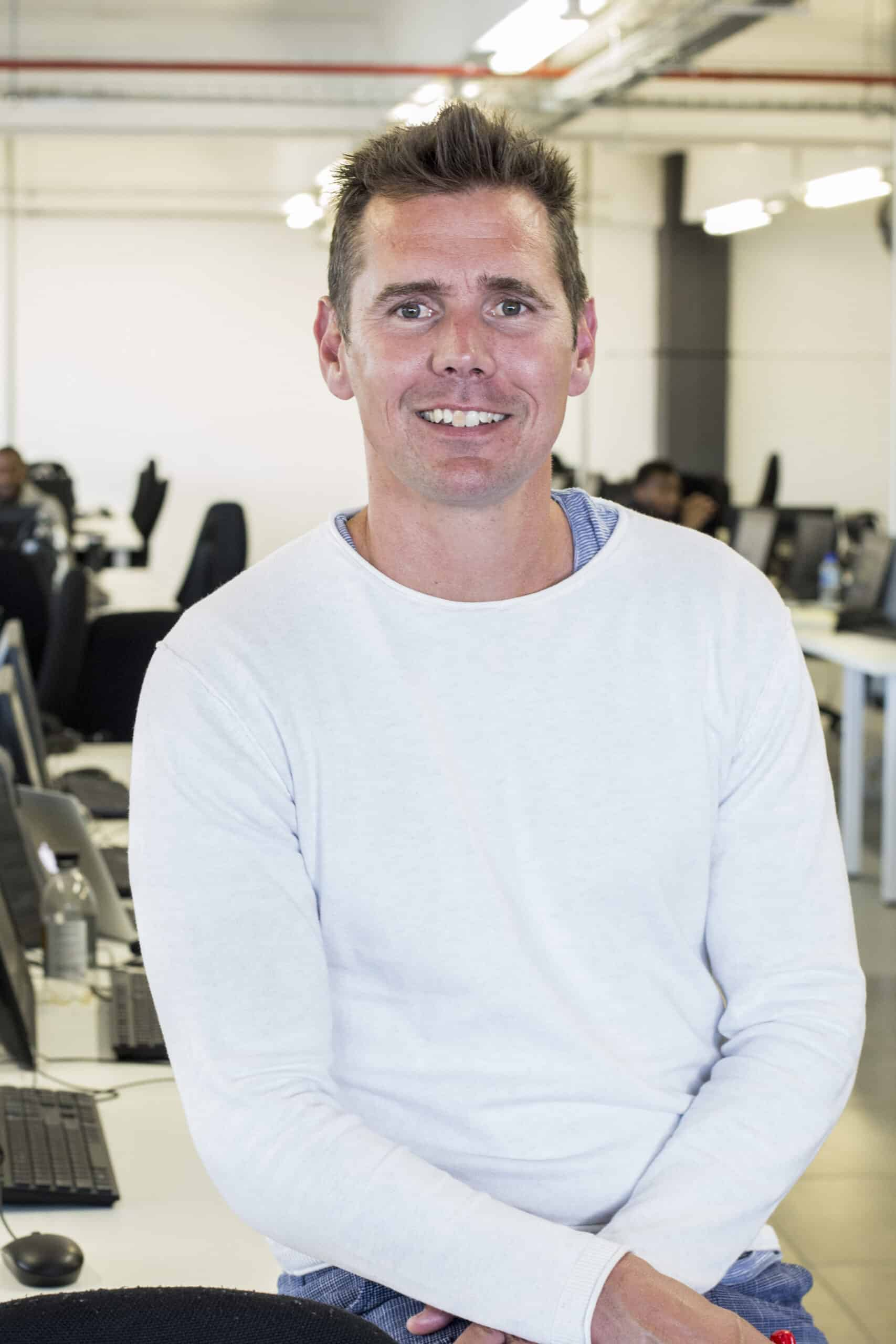 EXPLORE founder and CEO Shaun Dippnall