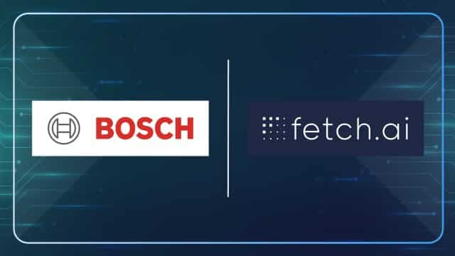 Bosch Collaborate with Fetch.ai To Launch A Blockchain Network | TechFinancials