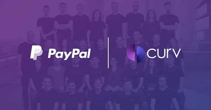 PayPal has agreed to acquire Curv