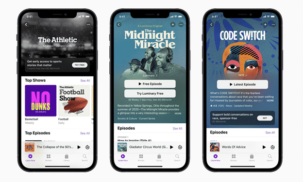 : Apple Podcasts Subscriptions